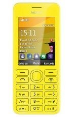 Nokia 206 Single Sim Yellow