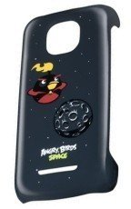 Etui Nokia CC-3060 Angry Birds Fire Bomb Bird do Asha 308 / 309