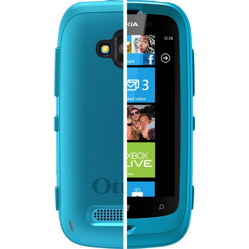 Etui OtterBox Nokia CP-3019 Cyan/Grey do Lumia 610